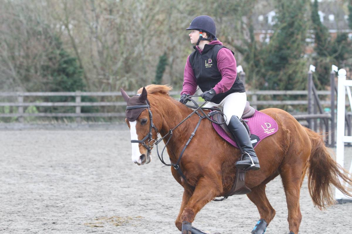 Hoody, Gilet and Saddle Pad in action!
