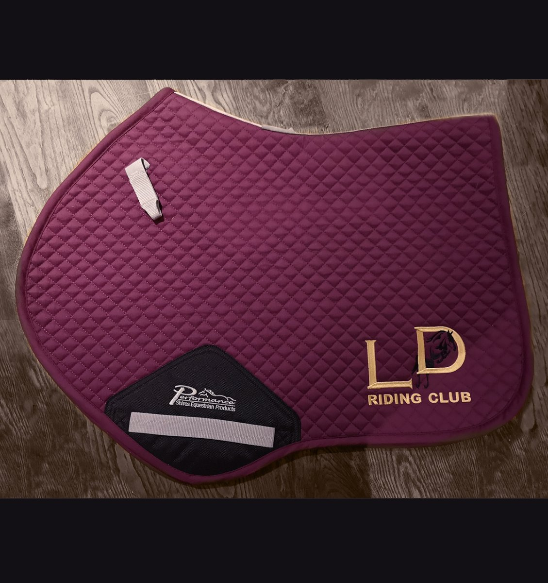 Saddle pad - £30 (emb on one side)